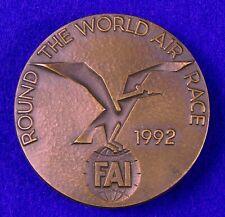Finland Finnish 1992 Air Race Table Medal