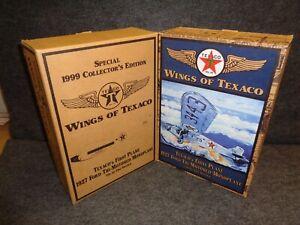 WINGS OF TEXACO 1927 FORD TRI-MOTORED AIRPLANE REG & SE SET - #7 in Series