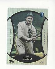 2010 Topps Legends Platinum Chrome Wal-Mart Cereal #PC3 Ty Cobb Tigers
