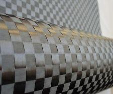 Toray original 12K 200gsm spread Stretch Plain 8*8mm plaid carbon fibre fabric