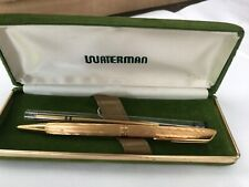 Vintage Waterman Gold Plated Ballpoint pen