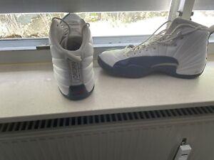 Jordan 12 Retro Blau Weiss Gr 46