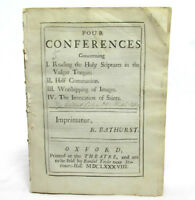 ANGLICANISM Four Conferences by GILBERT COLES Theophilus and Philodoxus