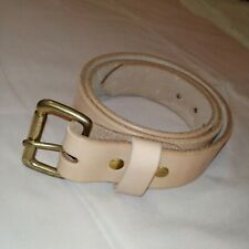 Corter leather belt Handmade Size 36 NEW