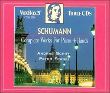 NEW Schumann: Complete Works for Piano 4-Hands (Audio CD)