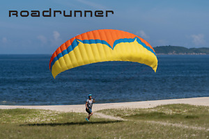 Ozone Roadrunner glider to Makes ground-handling training Easy & Fun paragliding