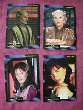 Babylon 5 Special Edition X4 Faces of Delenn 1:12 chase cards SkyBox 1997 VFN