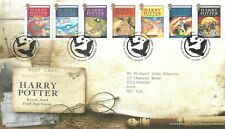 "GB FDC 2007 ""HARRY POTTER"""