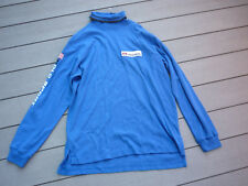 Vtg Polo Sport Arctic Challenge Blue Xl Snow Stadium Flag Spell Roll Neck Nwt