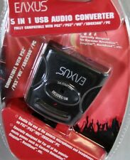 5in1 usb Audio Converter pour le karaoké, singstar, groupe de rock... ps2, ps3, wii, xbox360