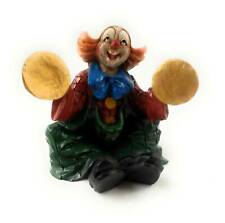 Clown Figure With Basin Sizend Sculpture Art Castings] Vivian By Faro Italy