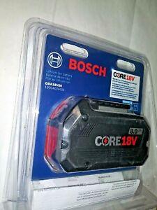 BOSCH GBA18V80 CORE 18V AH HIGH PREFOERMANCE BATTERY NIB