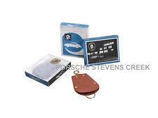 Porsche Reutter Key Pouch Leather Classic Part Key Chain Keyring Key Fob BROWN