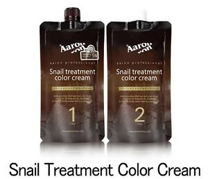 Aaron Snail Treatment ColorCream 180 g 8 Color With Free Gift For Home Operation