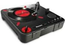 NUMARK PT01 Scratch Portable Turntable With Scratch Switch & Carry Cae [New Turn