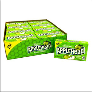 Applehead Hard Candy, 0.8 Ounce Box, Pack of 24
