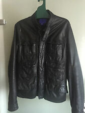 Jimmy Choo for H&M Lederjacke Jacket Leather Herrenjacke Leder EUR US size S