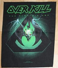 Overkill , The Electric Age Backpatch , 2012