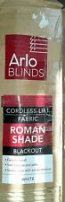 Arlo Blinds Cloud White Light Filtering Cordless Lift Fabric