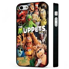 The Muppets Kermit Miss Piggy BLACK PHONE CASE COVER fits iPHONE
