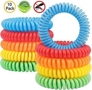 Bracelet Anti Moustique 100% Naturels Lot De 10