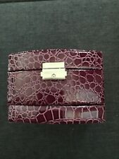 3 Layer Leather Jewelry Case