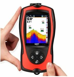 Rechargeable Wireless Sonar for Fishing 45M Water Depth Echo Sounder Finder