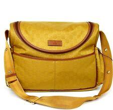 $1240 NEW Authentic Gucci Guccissima Nylon Diaper Bag Baby Bag Handbag, 123326