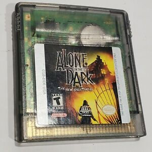 Alone in the Dark: The New Nightmare (Nintendo Gameboy Color, 1998) CART ONLY