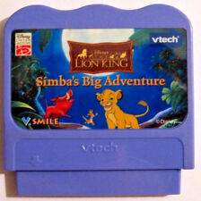 vtech V.Smile Systems Disney's The Lion King Simba's Big Adventure Cartridge