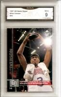 1997 UPPER DECK DATED ALLEN IVERSON MINT 9