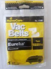 1 Eureka Vacuum Cleaner 52201C Canister Powerhead Belt ,No 1186