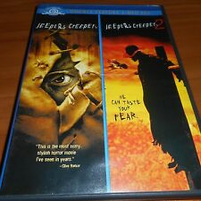 Jeepers Creepers/Jeepers Creepers 2 (DVD, 2007, 2-Disc)  Justin Long Used