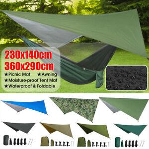 Waterproof Tarp Tent Camping Awning Rain Sun Shade Shelter Hammock  `, ☜