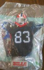 #83 Buffalo Bills MINI NFL JERSEY Burger King Kids Meal Toy New c95