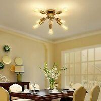 Modern Ceiling Lights Sputnik Chandeliers Hanging Lamp 8-Lights Pendant Lighting