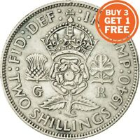 SILVER FLORIN / TWO SHILLING GEORGE VI COIN CHOICE OF YEAR 1937 TO 1951