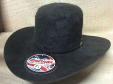 American Hat Co. Grizzly 20X Long Hair Beaver Fur Felt Cowboy Hat Western Rodeo