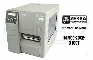 Zebra S4M00-200E-0100T Label S4M dpi Thermodrucker Etikettendrucker