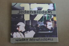 Jedem Siedem -  Wielka Niewiadoma CD POLISH RELEASE SEALED POLAND