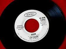 CLIFF RICHARD~AGAIN~ THE MINUTE YOU'RE GONE~EPIC~PROMO~~ TEEN 45