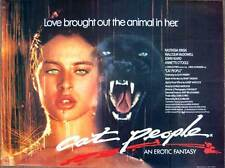 CAT PEOPLE Movie POSTER 30x40 Nastassia Kinski Malcolm McDowell John Heard