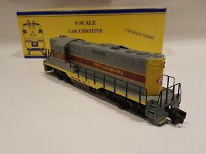 American Models S Gauge  Erie Lackawanna GP-9 Diesel Locomotive LNIB