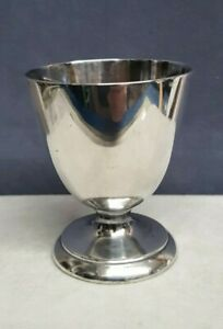 Antique Christofle Sterling Silver Egg Cup