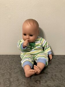 "2016 Adora Playtime Little Prince Baby Doll 13"" Satin Cloth Sucking Thumb Z2"