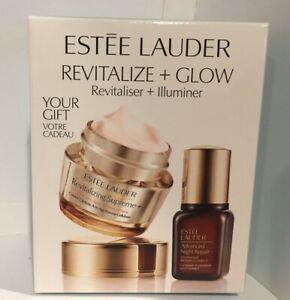 Estee Lauder Revitalize + Glow Illuminer 15 ml + 7 ml NEW IN BOX