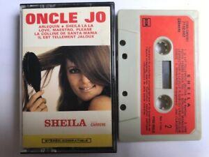 sheila oncle jo cassette audio K7 TAPE 33