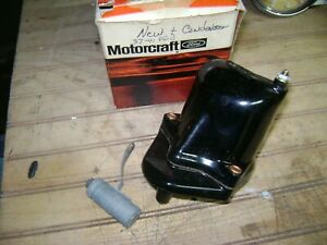 vintage motorcraft coil 39&41 ford new never used