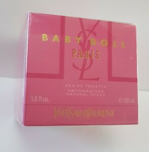 YSL BABY DOLL YVES SAINT LAURENT EDT 50ml SPRAY ( Sealed BUT *see details*) RARE