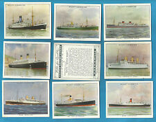 Ships/Boats Original Collectable Will's Cigarette Cards